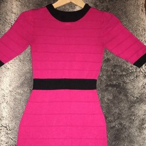 Mod Pink Dress - Forever 21 - Small